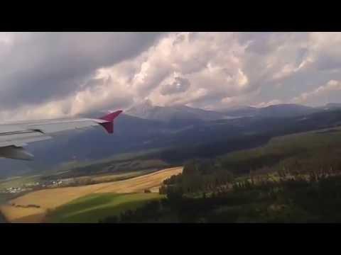 Poprad/Tatry Airport(TAT) Wizz air to London Luton take off