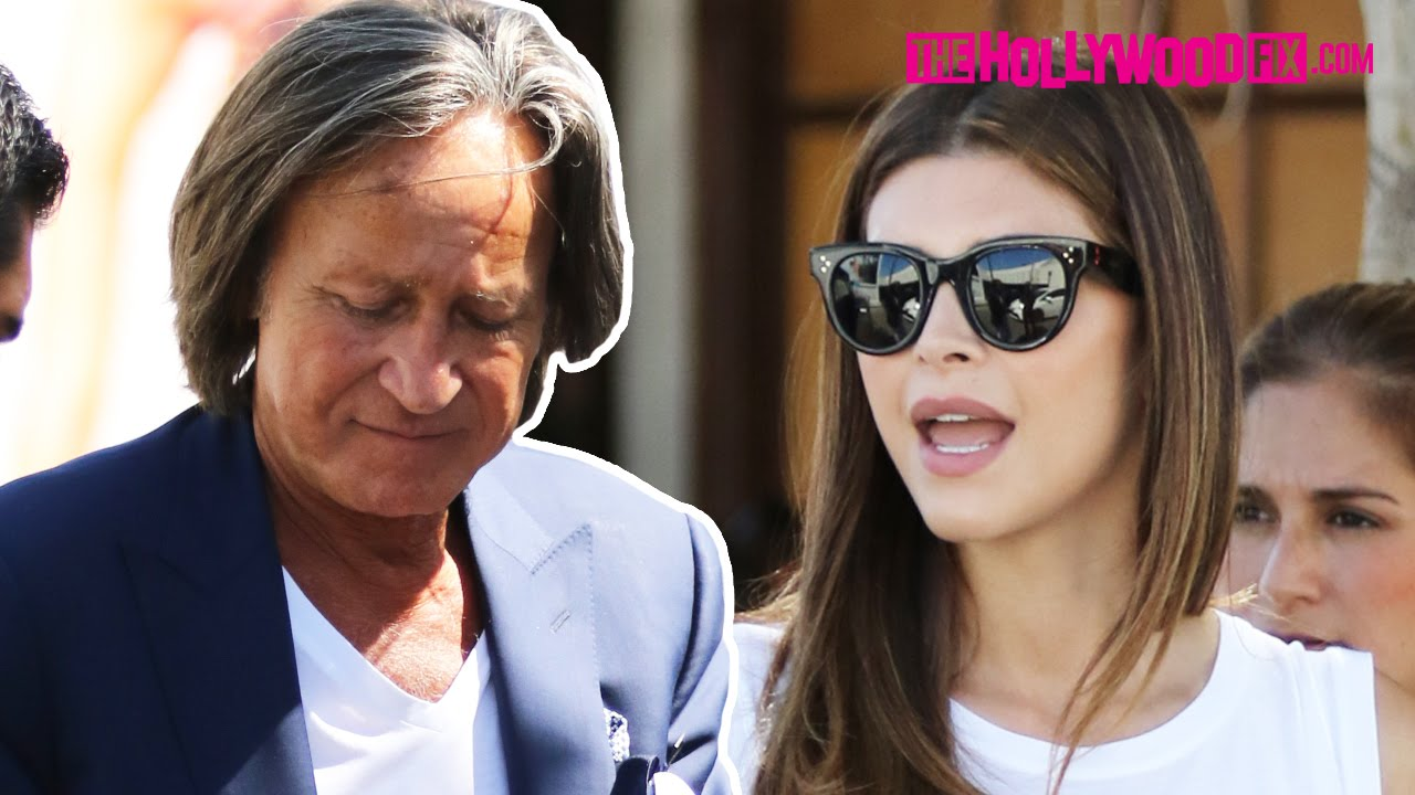 d1e0a4ace8bf9 Mohamed Hadid & Shiva Safai Leave Lunch Together At Il Pastaio 7.2.15 -  TheHollywoodFix.com