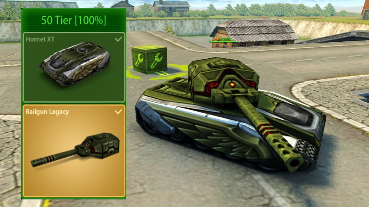 Tanki Online - Finished 2000 Stars - Getting Legacy Railgun + Hornet XT!