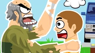 SAVE YOUR SON !!!! (Happy Wheels Funny Moments)