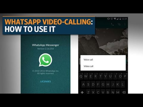 WhatsApp video-calling service: How to use it on your smartphone