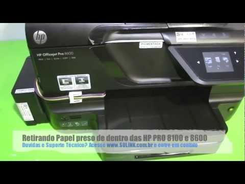 Papel Encravado HP PRO 8100, 8600, 8610, 8620, 8630, 251DW e 276DW - SULINK