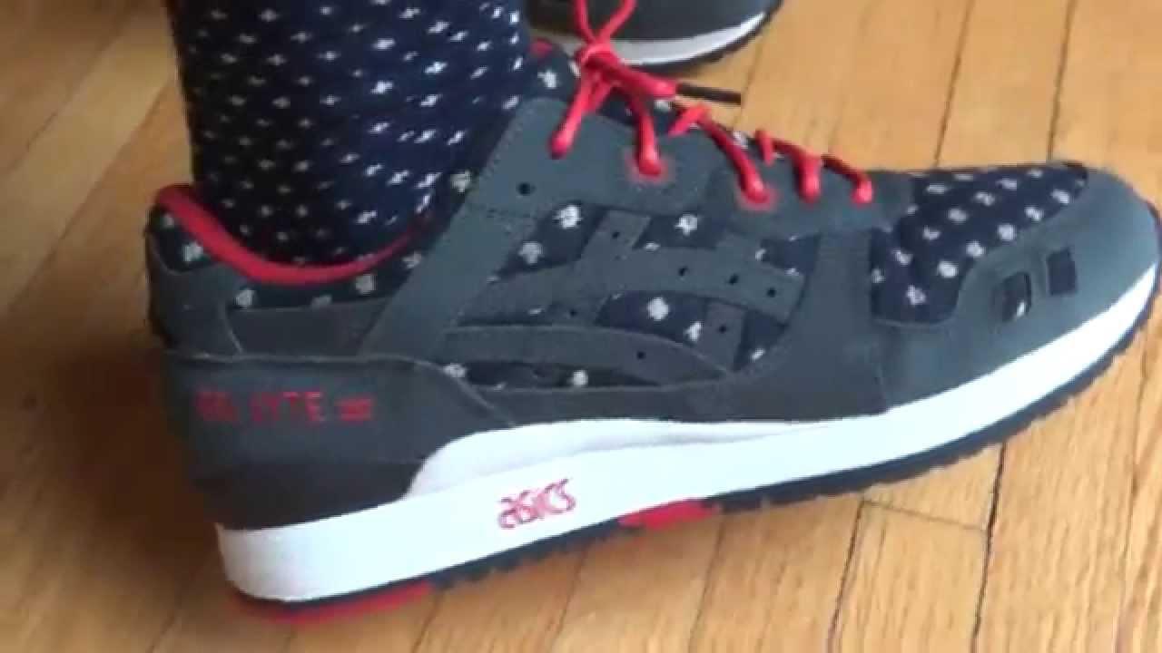 Asics On Feet