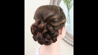Wedding hair video