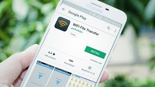 WiFi File Transfer Application Review in Urdu / Hindi