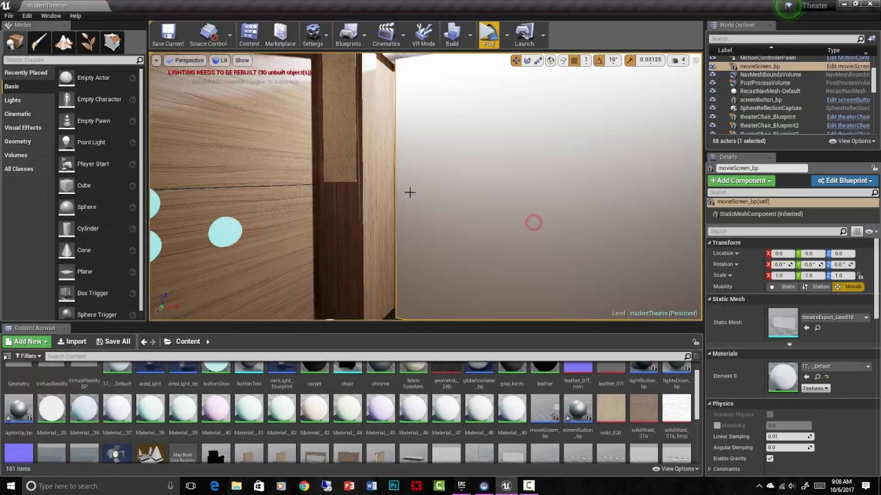 Advanced Blueprints for Virtual Reality Arch Viz