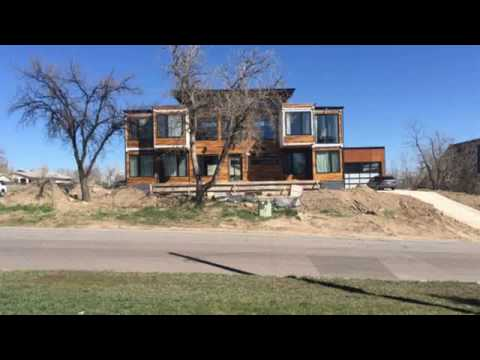 shipping container house arizona
