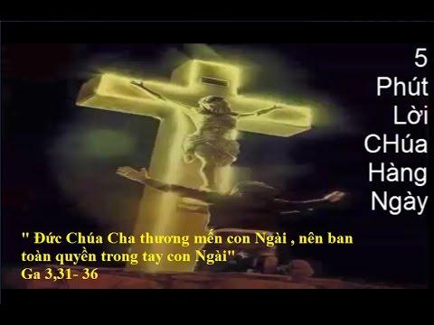 5 Phút Lời Chúa hàng Ngày - (27. 04. 2017) Thứ Năm Tuần II Mùa Phục Sinh