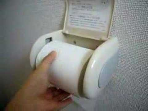 cool toilet paper holder