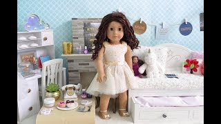 American Girl Doll Trendy Tumblr Bedroom!