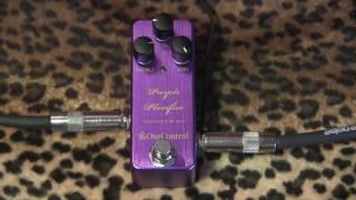 One Control PURPLE PLEXIFIER mini pedal : plexi amp style overdrive