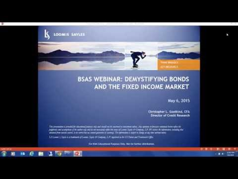 BSAS WEBINAR: Demystifying Bonds and the Fixed Income Market
