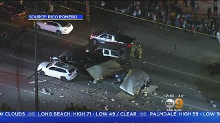 Box Truck Explosion In Boyle Heights Remains Under Investigation