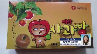 [생방송 가락동 365] 예산 사과로 만든 가공식품~