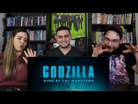 Godzilla KING OF THE MONSTERS - SDCC Official Trailer Reaction / Review