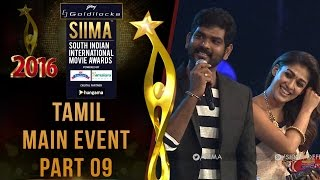 SIIMA 2016 - Tamil Main Event | Part 09