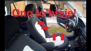 Dodělání vyhřívání sedaček Fabia 1/seat heating Fabia 1