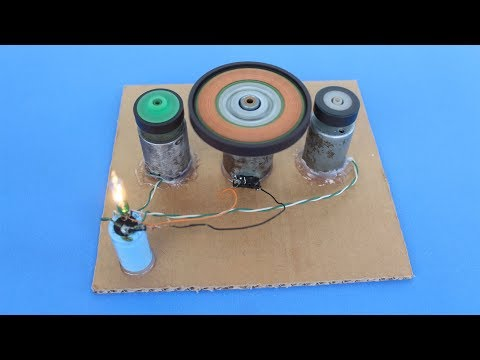 Free Energy Machine! Amazing Science Toys/Gadgets