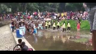 Tari Reog di tempat wisata Umbul Senjoyo Salatiga