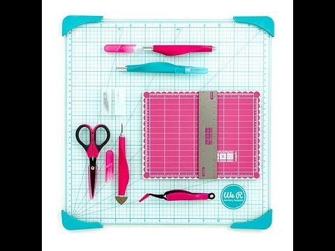 We R Memory Keepers Essential Mini Tool Kit Youtube