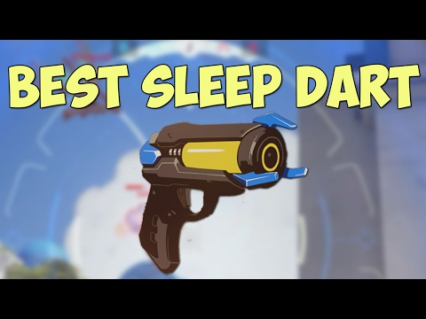 Thumbnail: Sleep dart could kill TWO ENEMIES... | Overwatch Funny Moments #2