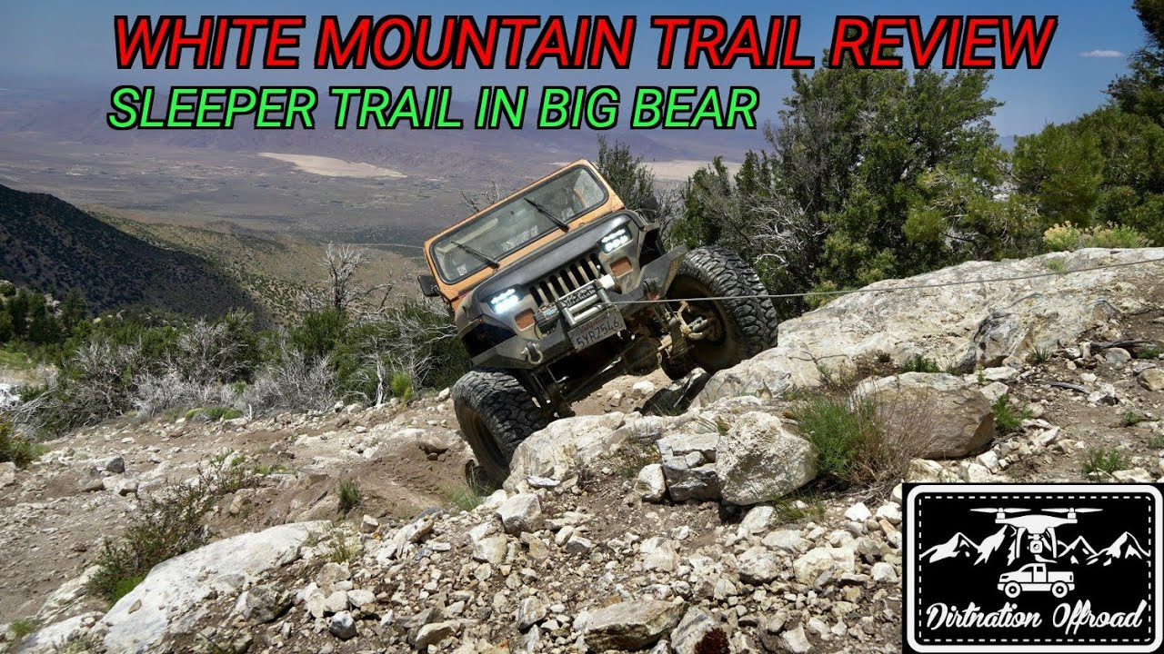Epic Views and Hard Lines! White Mountain Trail Review!