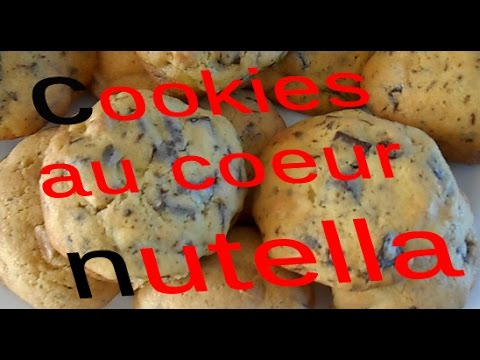 recette-~-cookies-au-cŒur-nutella