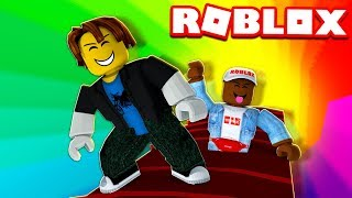 We're going through an Unbelievable Sky Arc Tunnel! Roblox