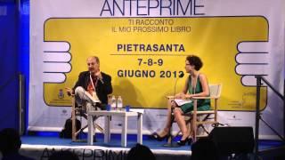 """Carmine Abate presenta """"Il bacio del pane"""" ad Anteprime 2013"""