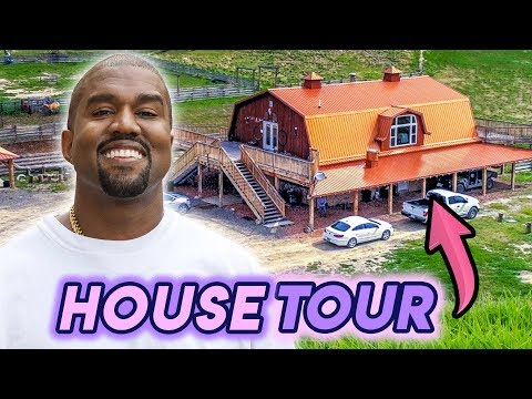 Kanye West | House Tour 2020 | His TWO New 28.5 Million Dollar Wyoming Ranches