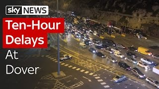 Ten-Hour Delays At Dover As Border Checks Tightened