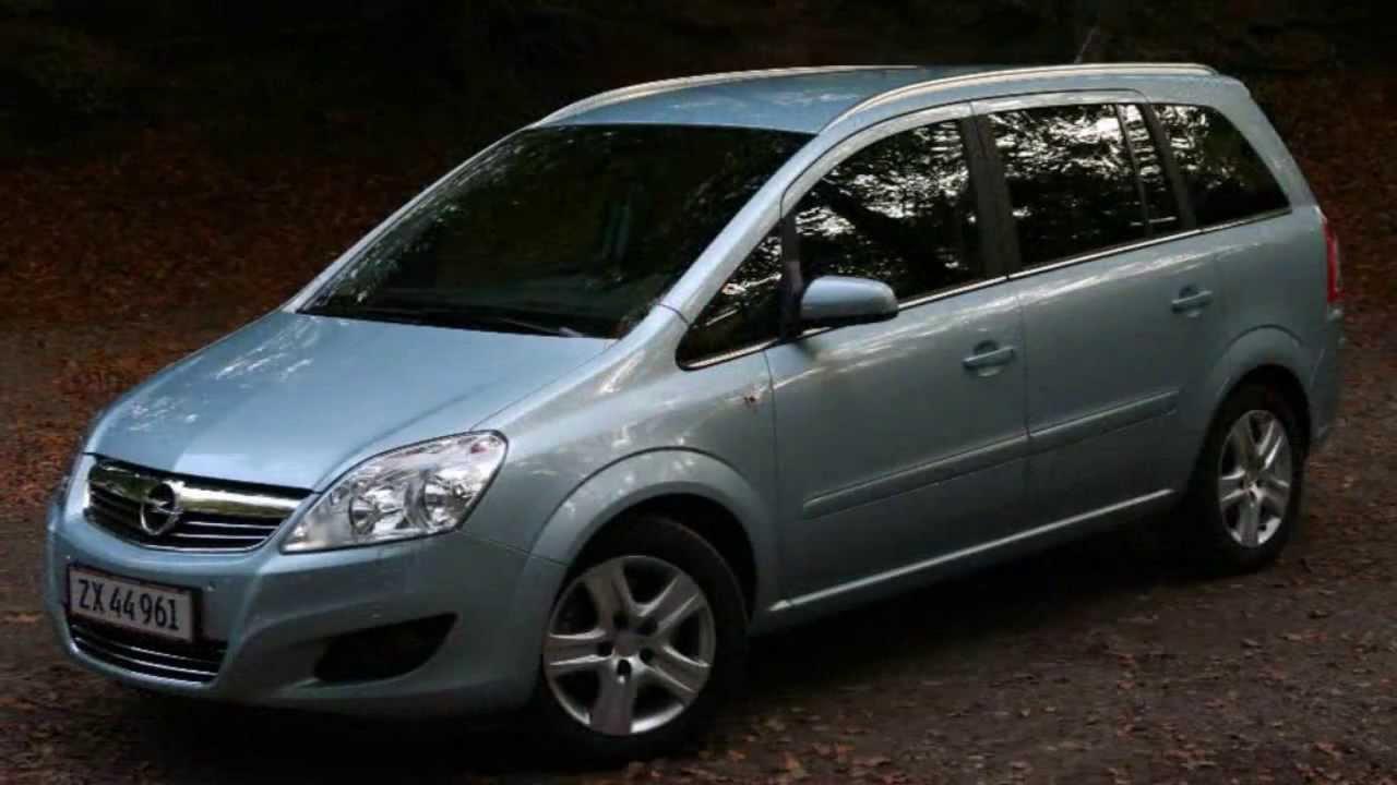 Opel Zafira Test