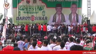 Kampanye Akbar Panggung Rakyat Djarot - Sihar