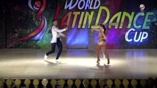 Roberto & Giada, Italy, Bachata Amateur Couple, Finals 2nd Place, WLDC 2016