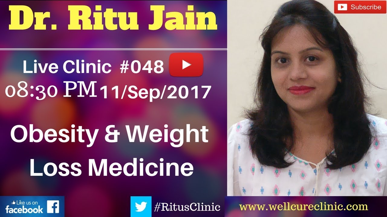 Best Homeopathic Medicine Treatment For Weight Loss Obesity Dr Ritu S Live Clinic 048
