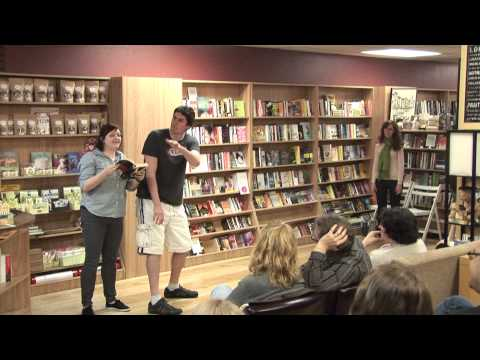 Death By Improv at To Be Continued... Bookstore Boutique & Café 042513