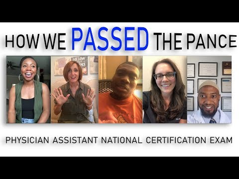 People who Passed the PANCE Share their Tips for Success! (Physician Assistant Exam)