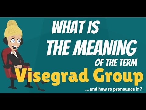 What is VISEGRAD GROUP? What does VISEGRAD GROUP mean? VISEFRAD GROUP meaning & explanation.