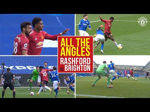 All the Angles   Marcus Rashford v Brighton & Hove Albion   Manchester United   Premier League