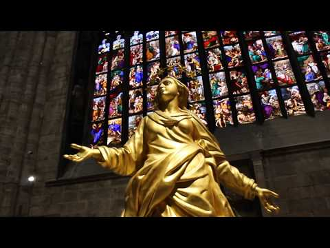 Inside MILAN'S magnificent CATHEDRAL (or, DUOMO), ITALY Italia