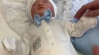 Комплект на выписку Luxury baby для новорожденного мальчика