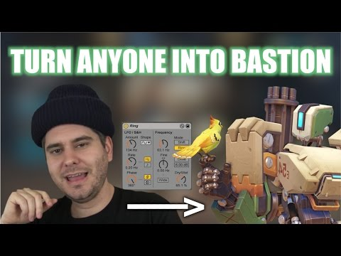 Turn ANYONE'S voice into BASTION from Overwatch