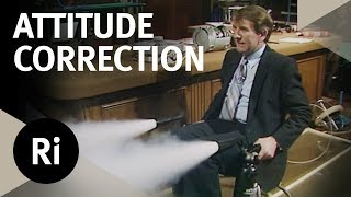 How Jets Are Used to Attitude Control Satellites - Christmas Lectures with Leonard Maunder