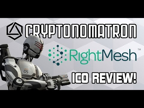 RIGHTMESH ICO Review! Decentralised Blockchain Wireless Mesh Network!
