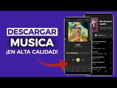 4 APPS para DESCARGAR MUSICA ORIGINAL en Alta Calidad + Caratulas | Android 2020