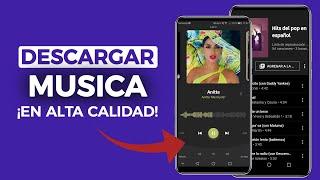 4 APPS para DESCARGAR MUSICA ORIGINAL en Alta Calidad + Caratulas   Android 2020