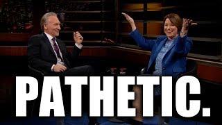 "Bill Maher & Amy Klobuchar Fear-Monger About Sanders & Warren Being Too ""Far Left"""