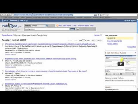 Conhecendo o PubMed - Básico