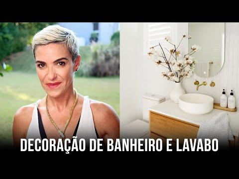 DECORAÇÃO - BANHEIRO E LAVABO