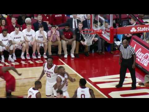 2016.12.18 Fairfield Stags at NC State Wolfpack Basketball